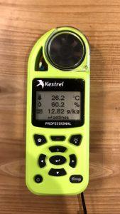 絶対湿度計測